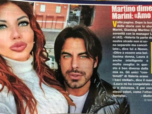GIANLUIGI MARTINO, UN NUOVO AMORE PER L'EX DI VALERIA MARINI