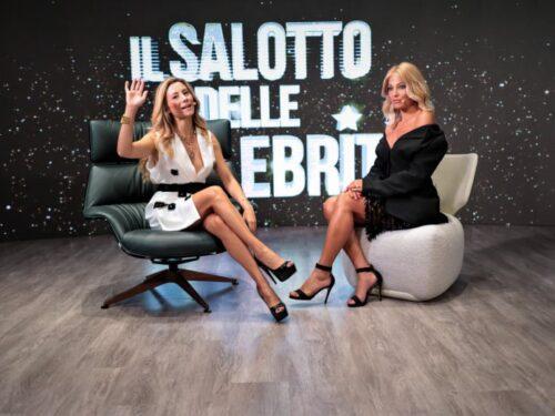"""Ospite de """"Il Salotto delle Celebrità"""" Raffaella Di Caprio parla dei suoi progetti futuri"""